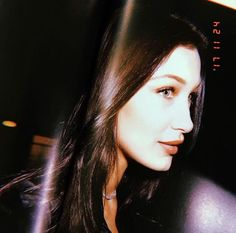 """Bella Hadid on Russell James's Book """"Backstage Secrets"""". Bella Hadid Hair, Bella Gigi Hadid, Backstage, Isabella Hadid, Cindy Kimberly, Famous Models, Victoria Secret Fashion Show, Hailey Baldwin, Girl Crushes"""