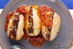 Receita de Batata recheada especial em receitas de legumes e verduras, veja essa e outras receitas aqui!