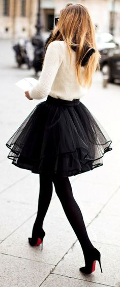 Tutu Skirt. Wish I could wear this to work without people looking at me so directly,.