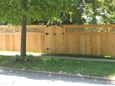 diamond lattice Fences, Garage Doors, Deck, Diamond, Outdoor Decor, Home Decor, Picket Fences, Homemade Home Decor, Fencing