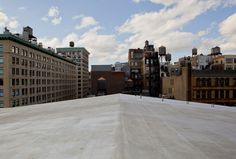 Soon to be white roof in NYC!
