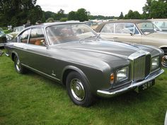 1969 Bentley T1 Pininfarina (one off - sold new to Lord Hanson, currently owned by Lord Bamford)