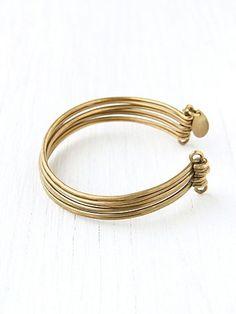 Brass Upper Arm Cuff