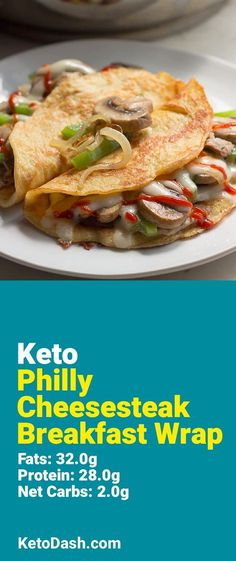 Trying this Philly Cheesesteak Breakfast Wrap and it is delicious. What a great keto recipe. #keto #ketorecipes #lowcarb #lowcarbrecipes #healthyeating #healthyrecipes #diabeticfriendly #lowcarbdiet #ketodiet #ketogenicdiet