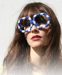 Resultado de imagen de gafas extravagantes