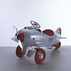 @rosenberryrooms is offering $20 OFF your purchase! Share the news and save!  US Patrol Pedal Airplane #rosenberryrooms