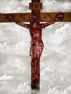 Images Du Christ, Pictures Of Jesus Christ, Names Of Jesus, Crucifixion Painting, Jesus Painting, Jesus Crucifixion, Catholic Crucifix, Catholic Art, Image Jesus