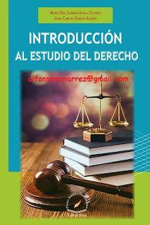 LIBROS EN DERECHO: INTRODUCCIÓN AL ESTUDIO DEL DERECHO
