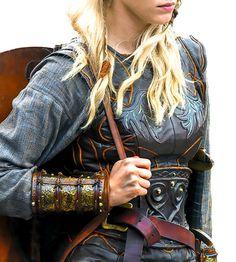 VIKINGS  : lecterlannister: Shieldmaiden armor - details (x)