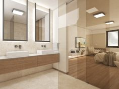 Master-suite bathroom | by CADFACE