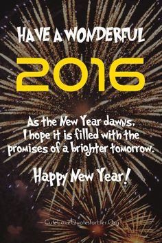 new years 2016 inspirational quotes