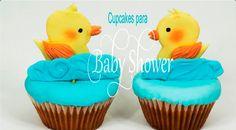 Cupcakes para Baby Shower 😻  Sabor de Fiesta.