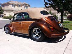 wood paneling Convertible beetle