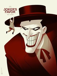 Joker's Favor (variant) by Phantom City Creative for Mondo