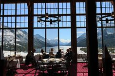 BUCKET LIST: High tea at the Prince of Wales Hotel in Glacier National Park, MT.