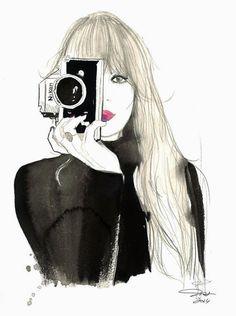 ilustraciones de moda pinterest - Buscar con Google