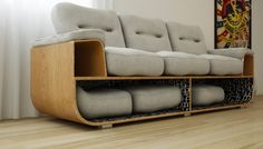 Sofa by Oldinei Marques de Oliveira.