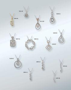 Designs by Rego diamond pendants