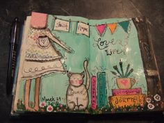 Love this journal page!