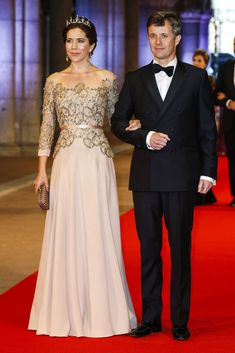 Crown Princess Mary of Denmark in Heartmade by Julie Fagerholt
