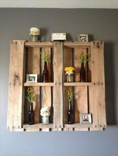 pallet shelf project