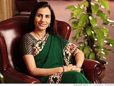 Chanda Kocchar - CEO of one of the largest banks in India.