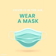 Quotes Distance, Mask Quotes, Face Mask Set, Beige Background, Free Illustrations, Graphic Design Inspiration, Vector Design, Signage, Change