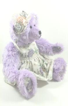 Build a Bear Purple//Blue FurBows