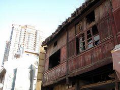 old meets new. Kunming, China.