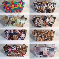 Changeable Cats & Dogs Purse Covers, Purse Covers, Bag Cover, Changeable Purse Covers by PamsBeadedTreasure on Etsy