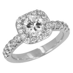 Just added to my wish list! DIAMOND ENGAGEMENT RING at www.descenza.com.