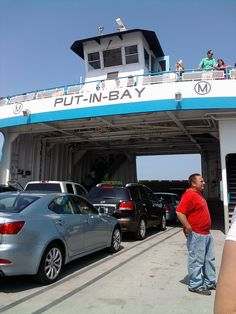 Miller Ferry, the only ferry to Put-in-Bay that carries both passengers and vehicles