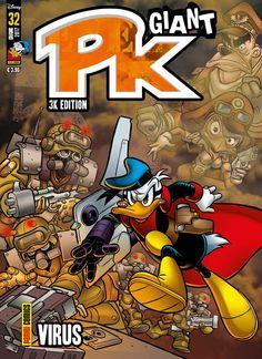 Disney Cartoons, Disney Pixar, Walt Disney, Comic Covers, Donald Duck, Robot, Italy, Kids, The Simpsons