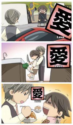 MASSIVE CUTENESS!!!! <3 It's true love *.*