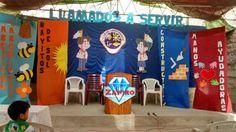 Decoración para inauguración del club de aventureros