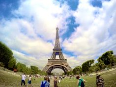Eiffel Tower  Paris, France  Shot with GoPro Hero 4, edited with Procamapp ©mikcantos2015