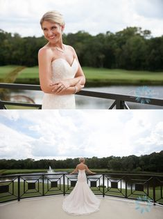 #MaggieBride wearing Haven by Maggie Sottero at her wedding at Tampa Palms Golf & Country Club | Carrie Wildes Photography