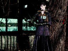 Saskia de Brauw by Mikael Jansson for Interview Magazine June July 2015