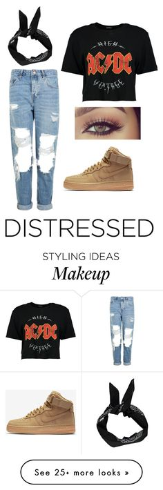 """""""Untitled #171"""" by briannaw220 on Polyvore featuring Topshop, Boohoo and NIKE"""