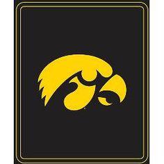 Logo Chair Iowa Hawkeyes Classic Fleece