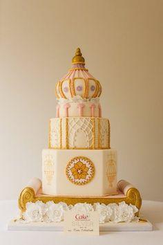 Regency Cake for Cake International 2012 - by Cakesbybeth @ CakesDecor.com - cake decorating website