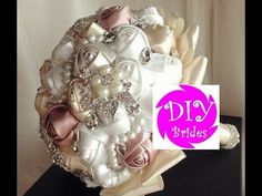 (41) How to make Brooch Bouquet l DIY Bouquet Kit Pearlie l No Wires Easy Tutorial - YouTube