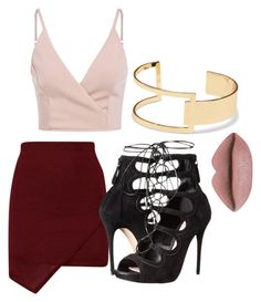 Night out , party ✨ by abeer111 on Polyvore featuring polyvore, fashion, style, Alexander McQueen, Sole Society and clothing