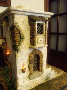 Resultado de imagen para pebetero+belenes Nativity, Scene, Crib, Home Decor, Windows, Nativity Sets, Laminas Vintage, Nativity Scenes, Miniatures