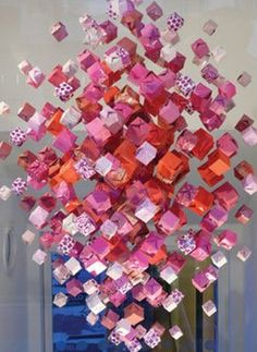 Origami Chandeliers by Jacqui Symons
