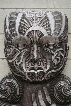 Traditional Maori Stone Carving. Aotearoa (NZ) // photo by global oneness project