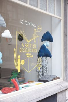 La Fabrika, A British Design Story | #Storefront Window Display
