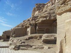 El Kab tombs Upper Egypt | por Paul Beckers