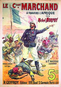 Le Commandant Marchand a travers l´Afrique vers 1900. Sold 2200 € on www.artprecium.com #ArtAuction