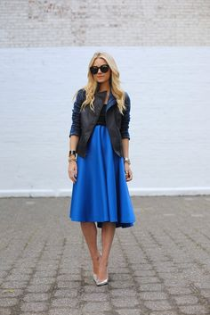 #fashion #fashionista @Blair Eadie // Atlantic Pacific Atlantic-Pacific: deep blue